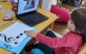 オンラインレッスン、対面レッスン、どちらにも柔軟に対応できる教室であり続けます!
